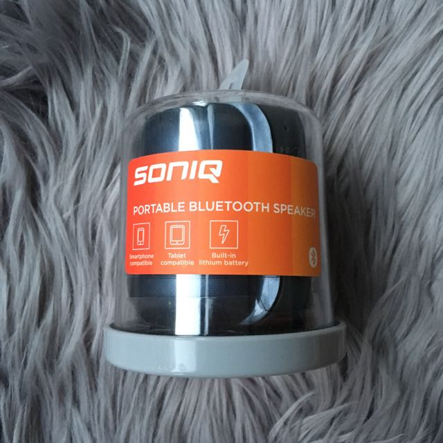 SONIQ Portable Bluetooth Speaker