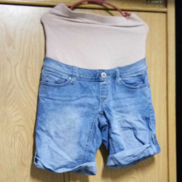 Stretchable Maong Short