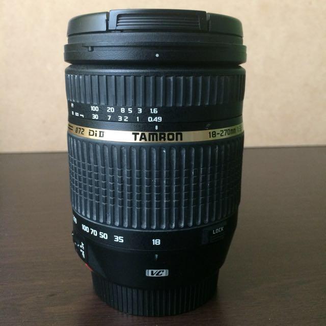 Tamron 18-270mm Lens