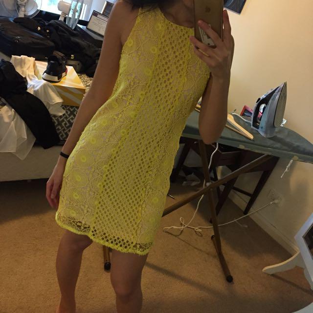 Tokito Yellow Dress Size 10