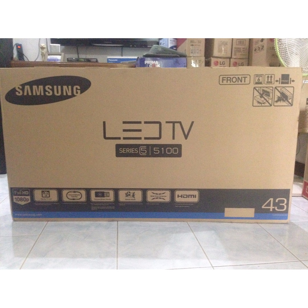 Tv Led Samsung 43 Inch Ua43j5100ak Full Hd Family Tv Electronics