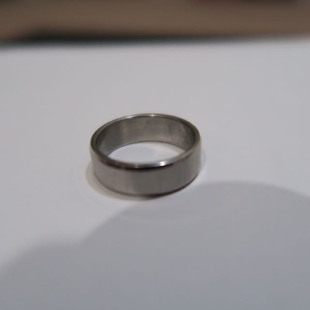 Unisex Sterling Silver Ring