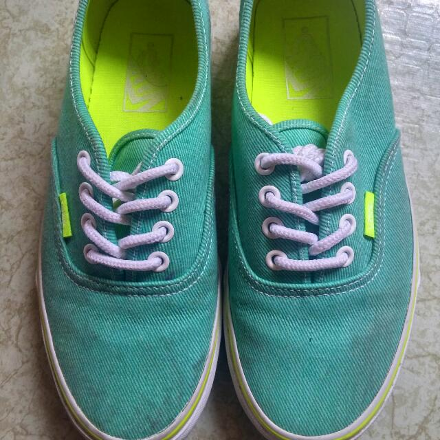 Vans Off The Wall Mint Green
