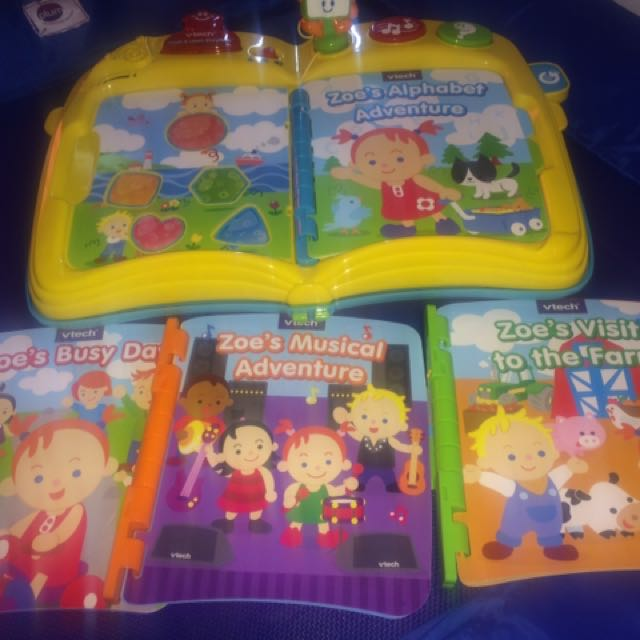 Vtech Touch And Learn Story Time