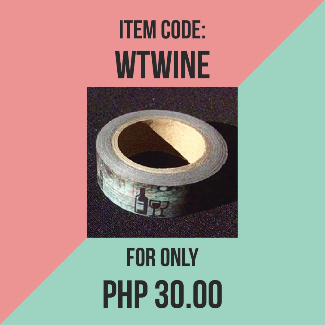 WASHI TAPE // WTWINE
