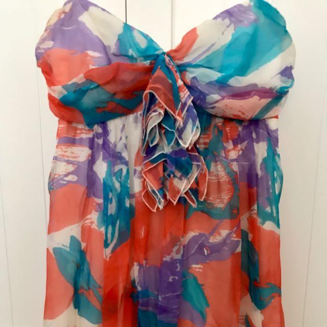 Wish Silk Dress | Size 6