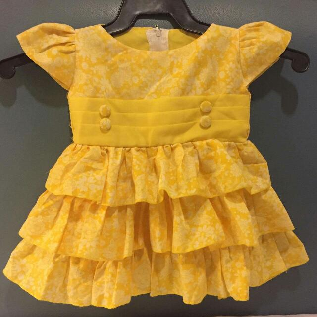 Yellow Cute Dress
