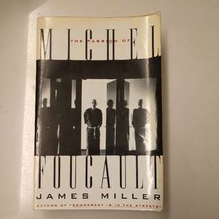 Book - The Passion Of Michel Foucault
