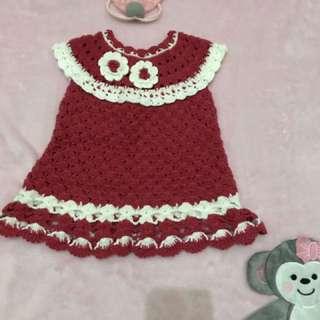 Dress Baby Wol