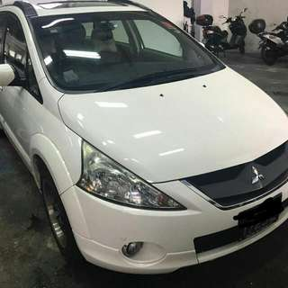 MITSUBISHI GRNDIS 2.4(A) MIVEC 2007 TIP TOP CONDTION (BEST PRICE IN TOWN) (SGPORE SCRAP CAR)