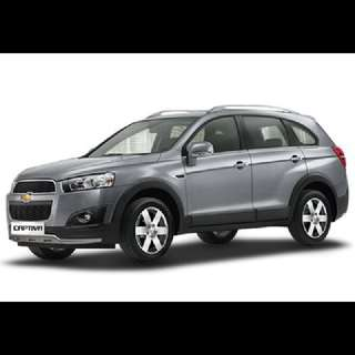 Like New Chevrolet Captiva SUV 7 Seater & Honda Vezel For Lease Now