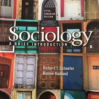 Guelph Humber justice studies Sociology a brief introduction