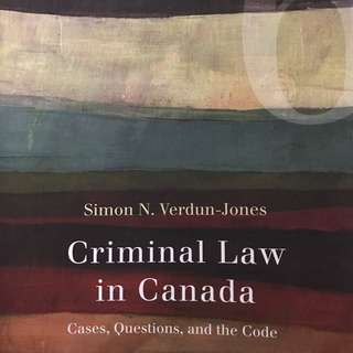 Guelph Humber justice studies Criminal law in Canada