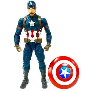 Hasbro Marvel Legends Infinite Giant Man Wave Captain America (Best of Civil War)