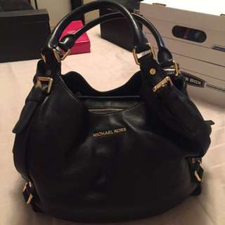 MK Bedford large shoulder tote Black