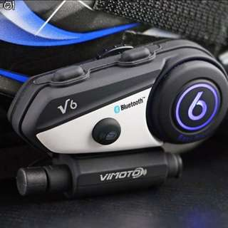 Vimoto V6 Biker Bluetooth (English version)