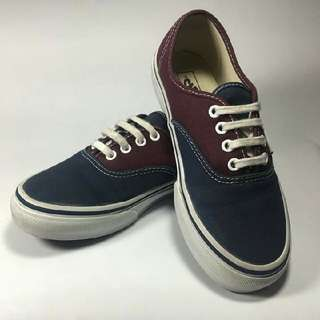Vans (2 Tone) Dress Blue/Fig Kids