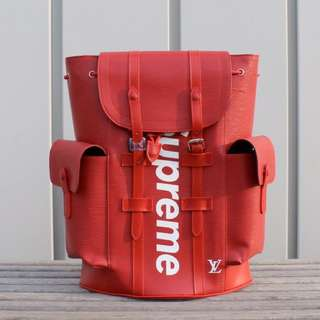 Louis Vuitton X Supreme Back Pack
