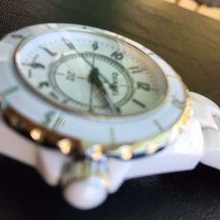Authentic Chanel J12 White Ceramic watch