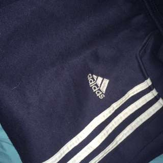 Navy Adidas Trackpants