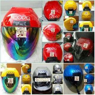 238--Nova Helmet 🦀 For SALE, Yamaha Jupiter, Spark, Sniper,, Honda, SUZUKI