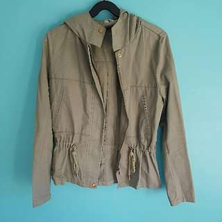 Valleygirl Khaki Jacket