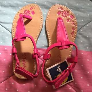 ❗️SALE❗️Dynasty Pink Thong Sandals