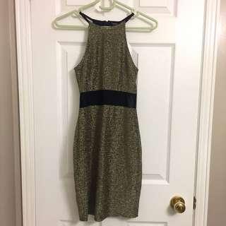 F21 Metallic Dress