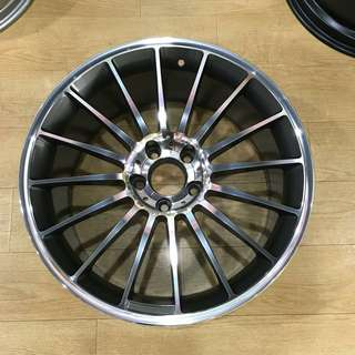 "19"" 5x112 TAM rims for Mercedes C class and E class"