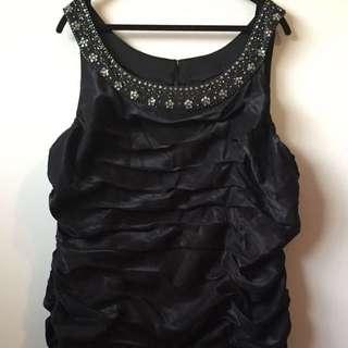 Plus Size Formal Black Dress