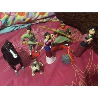 Mulan Action Figures