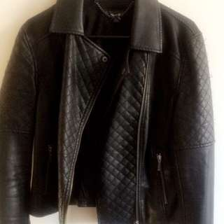 Leather Jacket Size 10