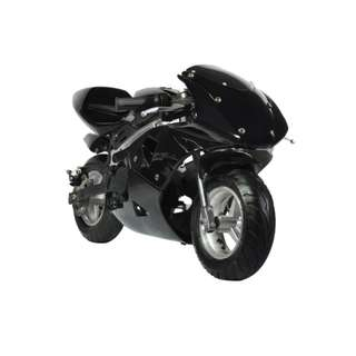 Tinker Motors GPX 49cc Pocket Rocket Sports Bike (Black)  (COD)