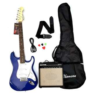 Thomson ST-1 Electric Guitar Package (Blue)  (COD)