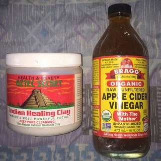 Aztec Secret Indian Healing Clay with Bragg's ACV