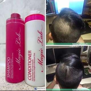 Magic Lab洗頭水護髮素套裝(下次再惠顧減$10)
