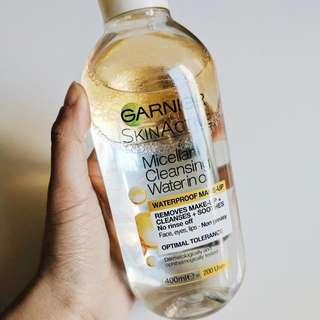 Garnier Micellar Water In Oil (Waterproof Makeup Remover)