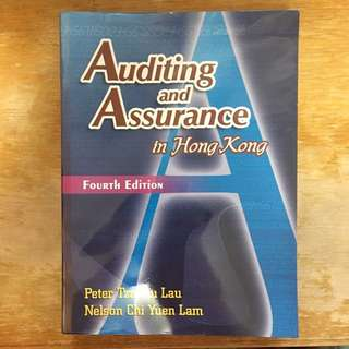 Auditing and Assurance in Hong Kong 4th Edition