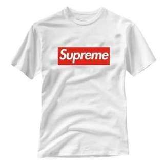 Supreme Female T-shirt  (M)