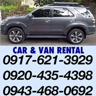 Van For Rent Hire Rental Car For Rent Hire Rental Truck For Rent Outing Pickup Dropoff Airport Transfer Taguig Out Of Town Trip