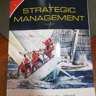 Strategic Management -12th Edition