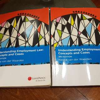 Understanding Employment Law: Concepts And Cases -3rd Edition