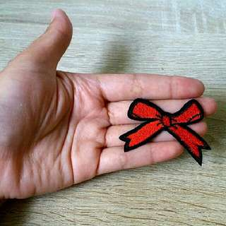 Red Ribbon Patch
