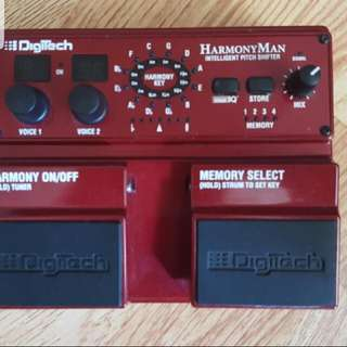 HARMONY MAN Intelligent Pitch shifter