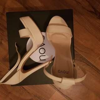 Cream Novo Heels