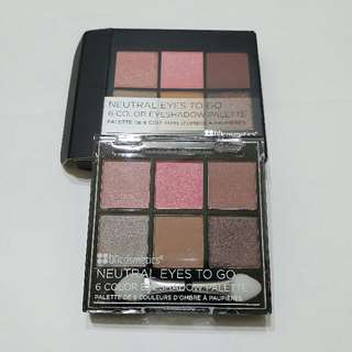 BH Cosmetics Neutral Eyes To Go Palette