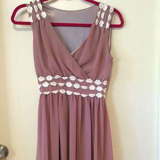 No Brand Floral Formal Dress Size M