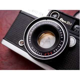 Olympus PEN D3 full manual half frame vintage film camera