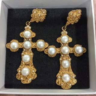 Christie Nicolaides Nonia Pearl Pierced Earrings