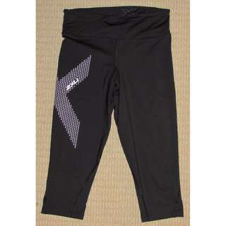 2XU mid rise 3/4 length compression tights